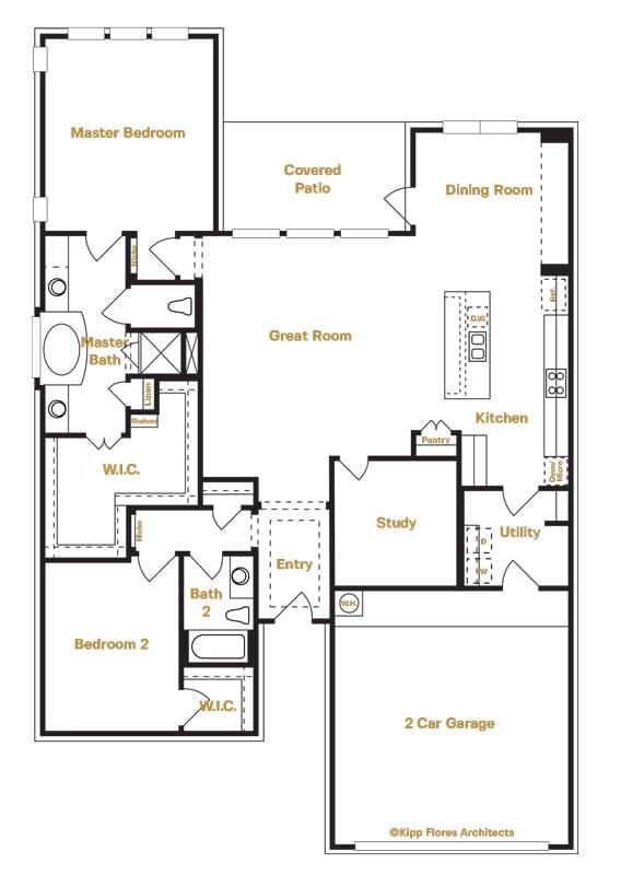 4405 Bremen | Ranches at Creekside Floorplan | Sitterle Homes